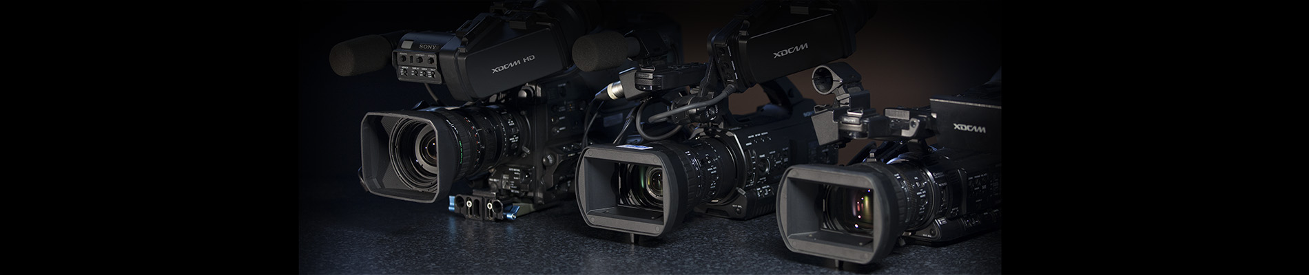 Sony PMW cameras. Great for live event video camera rental in Adelaide