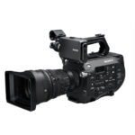 Sony FS7 with lens
